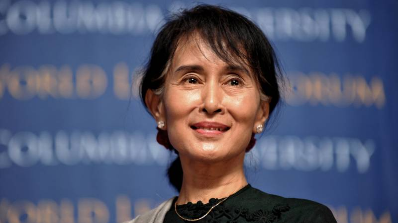 Myanmar's Suu Kyi defiant in first comments since coup