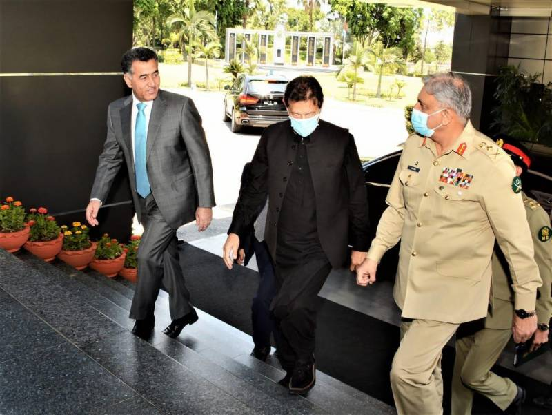 PM, services chiefs discuss security situation at ISI Headquarters