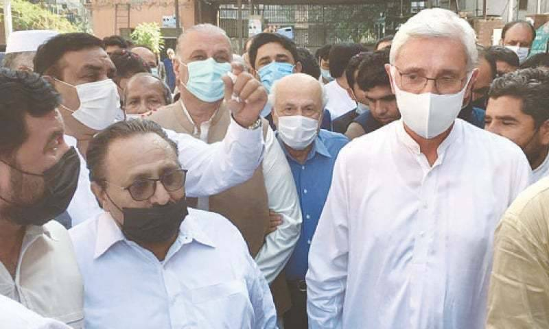 Tareen group's meeting cancelled at last moment