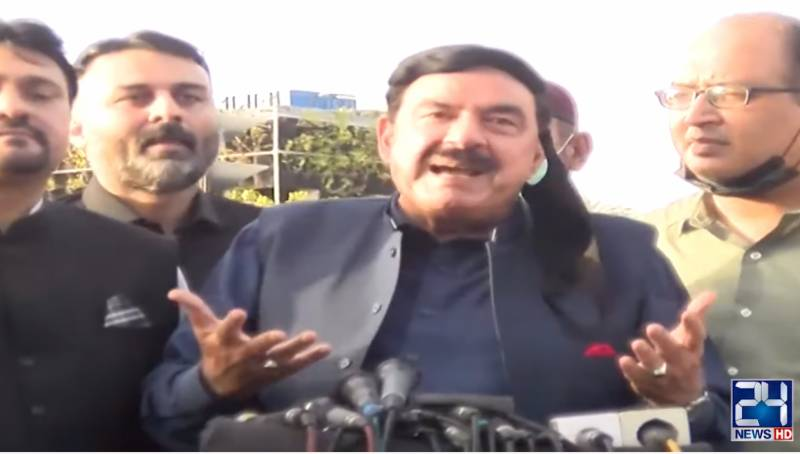 Interior Minister Sheikh Rasheed rules out governor rule in Sindh