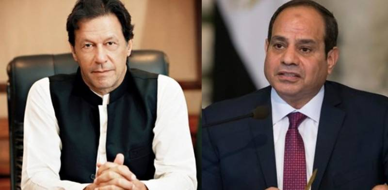 PM Imran speaks to Egyptian President on Palestine issue
