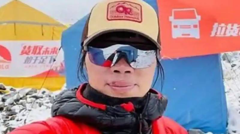 Hong Kong woman breaks record for fastest ascent of Everest: official