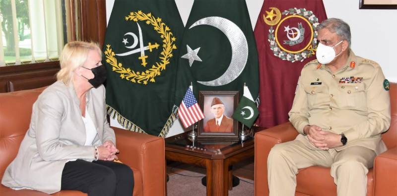US Charge d'Affaires to Pakistan Calls on COAS