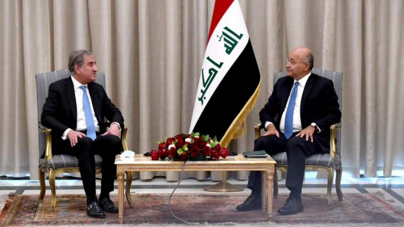 FM Qureshi reaffirms Pakistan's long-standing ties with Iraq