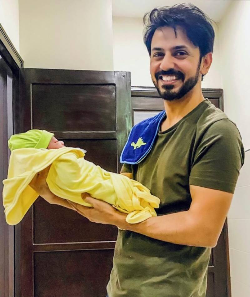 Actor Bilal Qureshi and Uroosa Bilal welcome another baby boy to their family