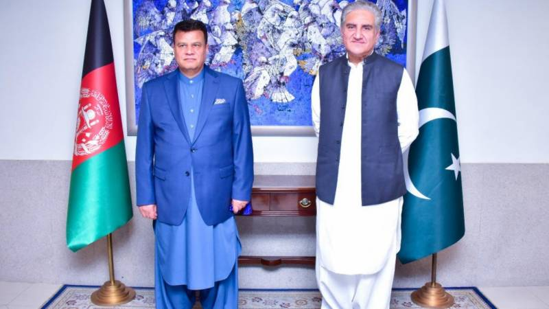 Qureshi reaffirms support to Afghanistan during meeting with Speaker of Wolesi Jirga