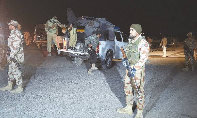 Four FC soldiers embrace martyrdom in terror attacks in Balochistan