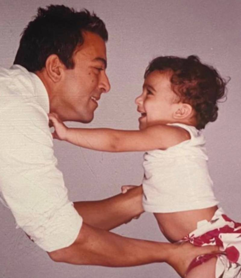 Emotional Shaan Shahid talks about bond between father and daughter