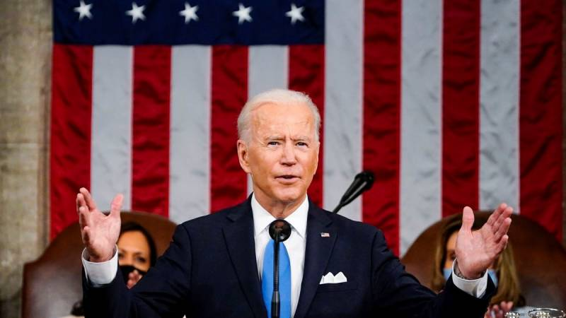 Biden says 'looking' at Russia retaliation over cyberattack