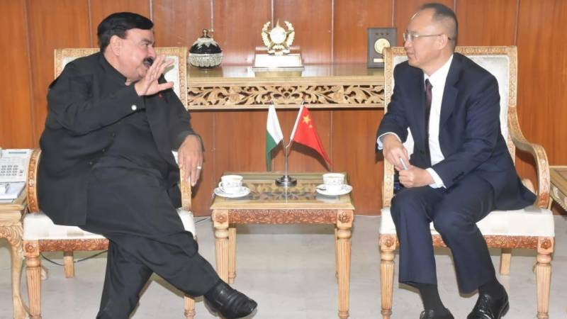 Chinese citizens to get two-year work visa within 48 hours: Sheikh Rashid