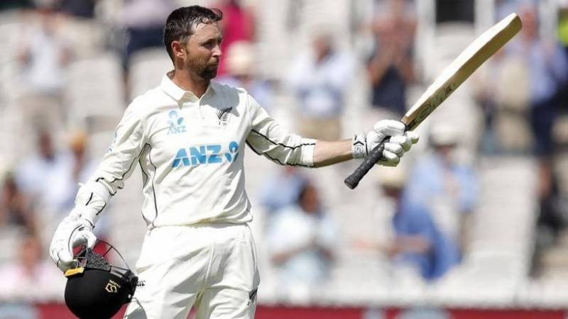 New Zealand's Conway makes debut double century before England collapse
