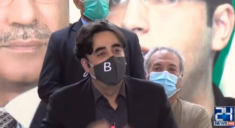 Bilawal chides government over false claims on economy