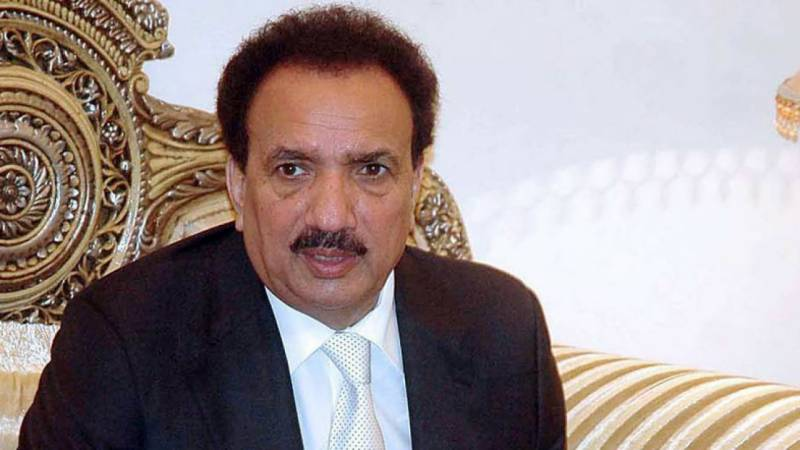 Rehman Malik says everyone should stand by the army