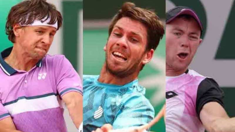 Ric, Cam, Dom: The three outsiders hoping to stun 'Big Three' at French Open