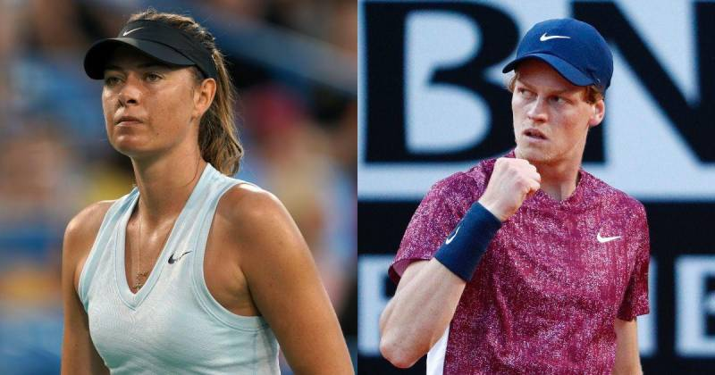 Sinner targets French Open second week with boost from Sharapova