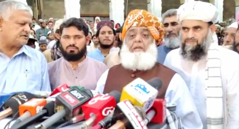 Will not topple govt with help of any institution, says Fazl