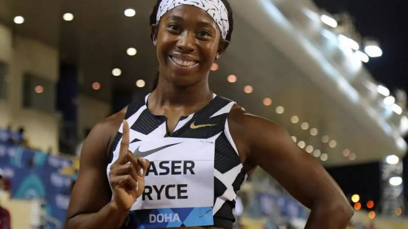 Fraser-Pryce sends Olympic warning with 10.63 for 100m