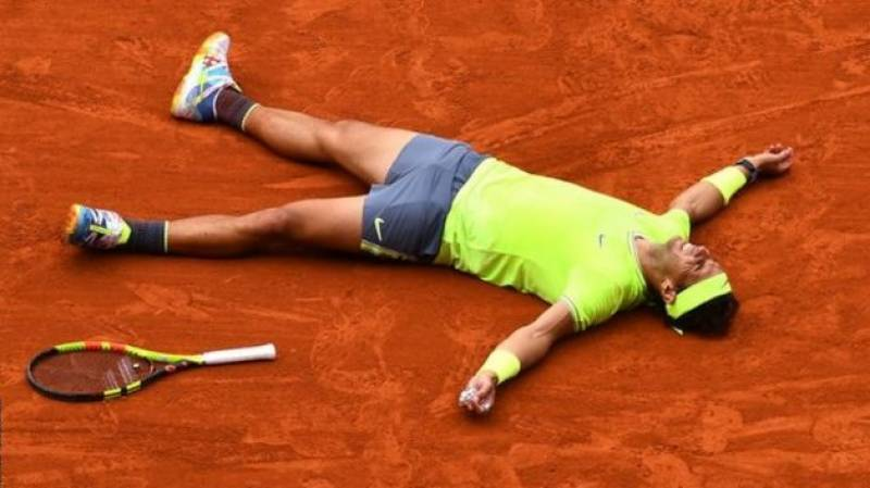 Nadal in French Open fourth round for 16th time with 103rd win