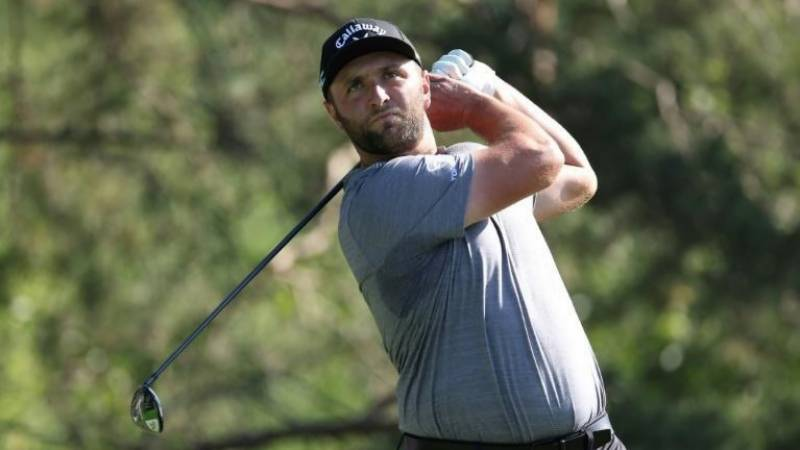 Rahm grabs US PGA Memorial lead with morning hole-in-one