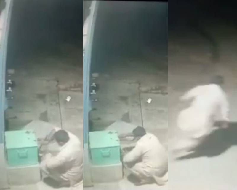 Robber steals money from Arifwala mosque's cash-box