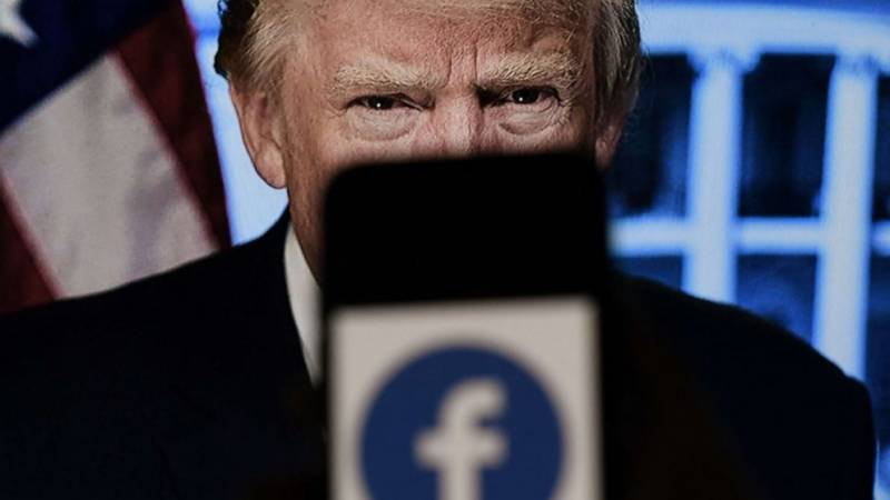 Trump blasts Facebook ban, teases return to White House