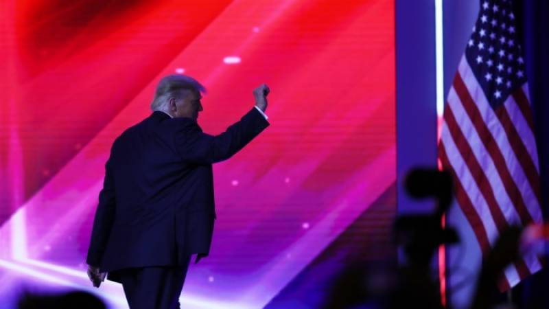 Trump returning to the stage as he flirts with 2024 run