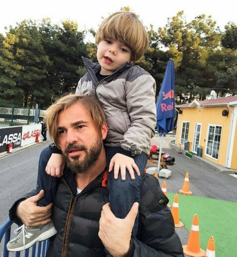 Ertugrul star Engin Altan's 'powerful' picture with son takes internet by storm