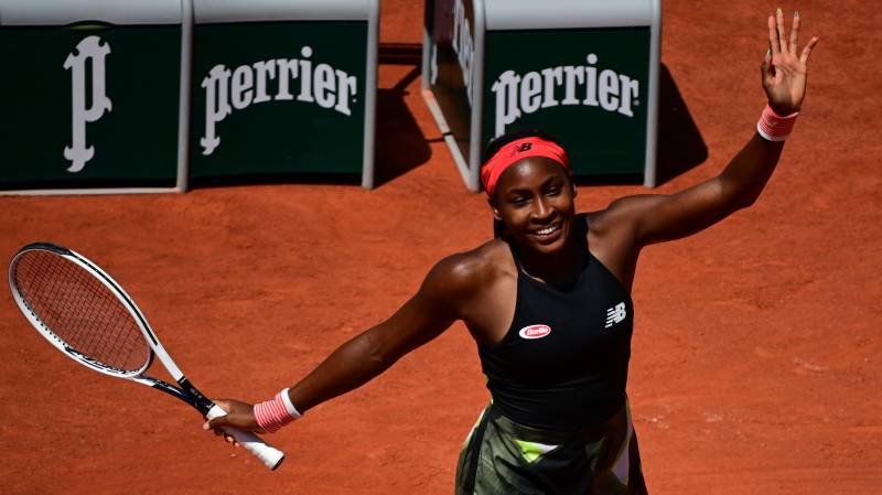 US teenager Gauff reaches first Slam quarter-final at French Open