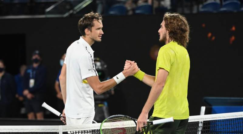 Medvedev to renew grudge match with 'greatest rival' Tsitsipas