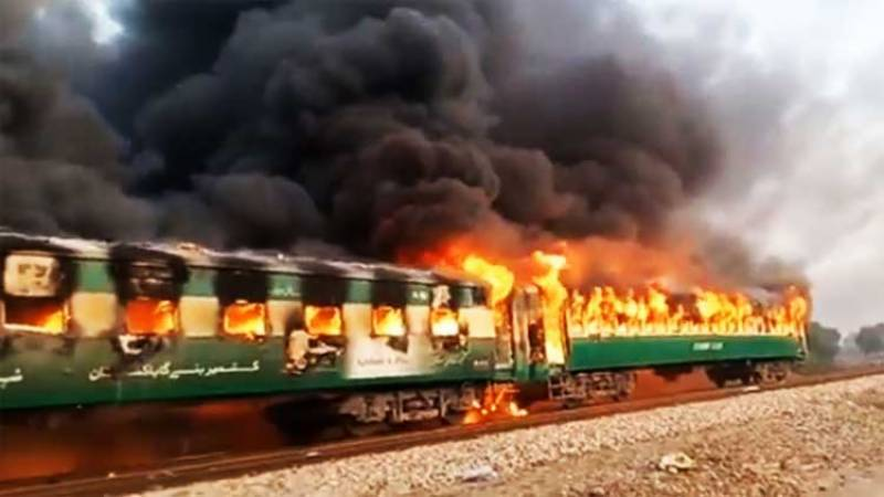 Timeline of major train accidents in Pakistan
