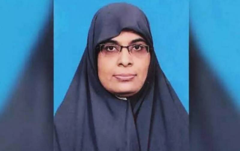 Dr Sadia first female terrorist included in CTD's Red Book