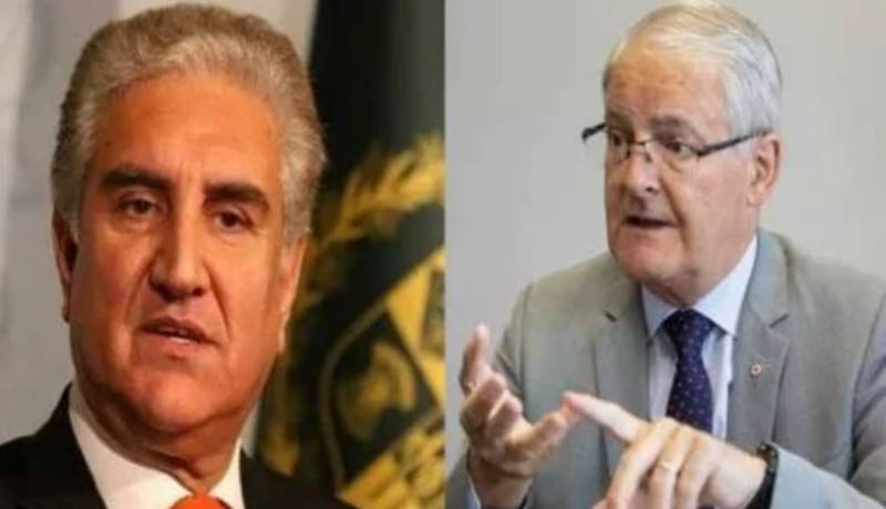 FM Qureshi discusses rise in Islamophobia with Canadian counterpart