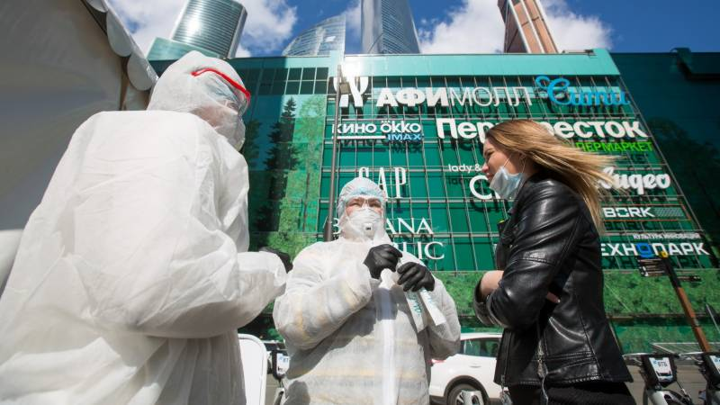 Moscow sounds alarm over virus surge