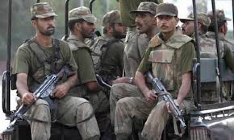 FC soldier martyred, two terrorists killed in Kharan operation
