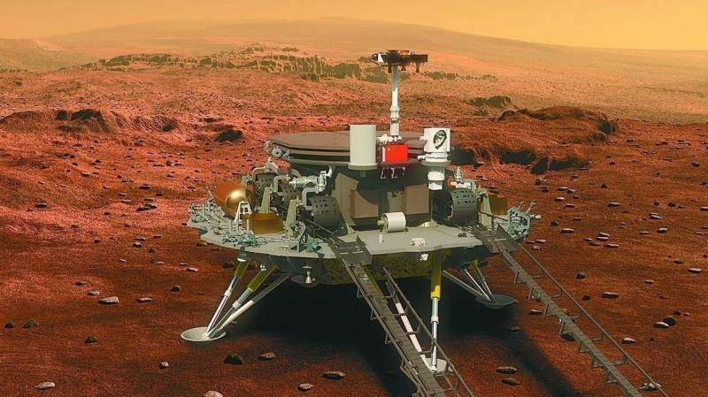 Rover leaves 'China's imprint' on Mars