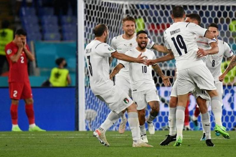 Immobile spearheads Italy attack for Euro 2020 opener against Turkey