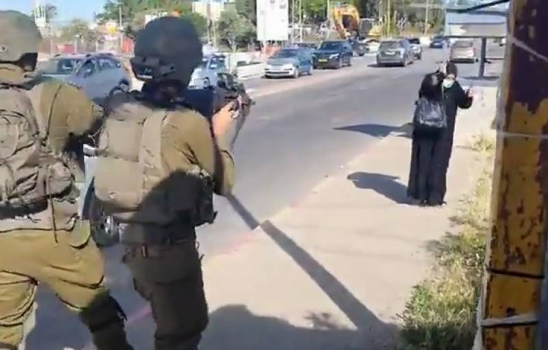 Palestinian woman 'with knife' killed by Israeli forces
