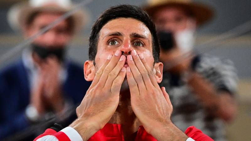 Djokovic conquers 'Everest' and eyes 52-year landmark at French Open