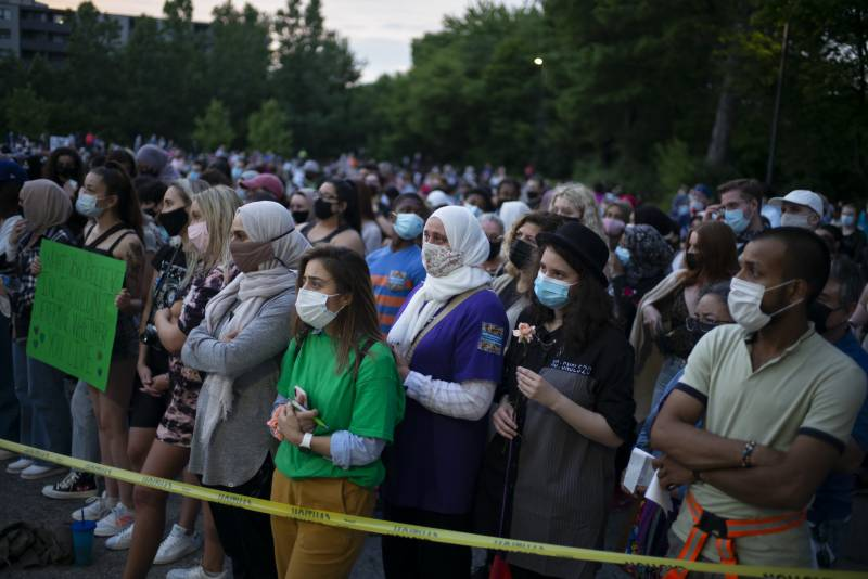 Interfaith march honours Pakistani family killed in Canada truck attack