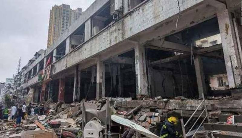 Gas explosion in China kills 12