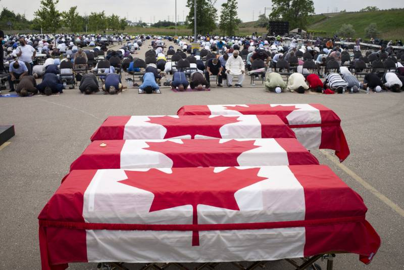 Canada pays final homage to Pakistani family killed in terror attack