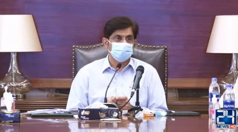 CM Murad accuses government of neglecting Sindh