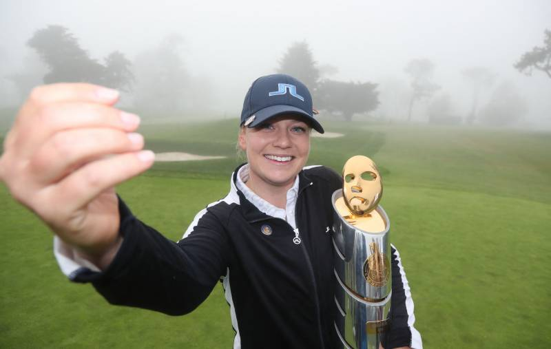 Castren becomes first from Finland to win on LPGA Tour