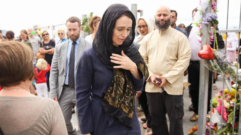 New Zealand's Ardern pans mosque attacks film amid backlash