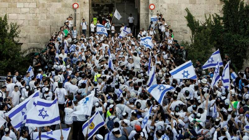 Far-right Jerusalem march tests new Israeli government