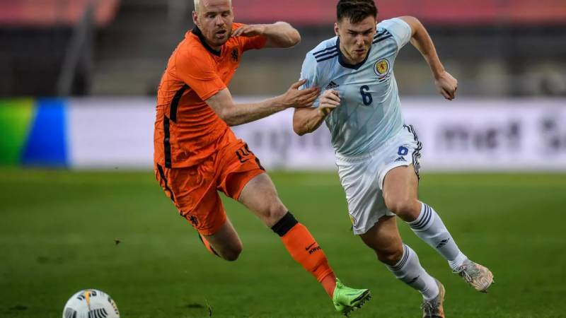 Scotland's Tierney in contention to face England at Euro 2020