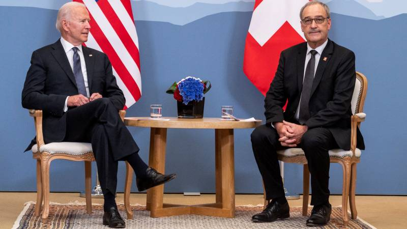 Biden vows 'more' support to Swiss aid channel to Iran