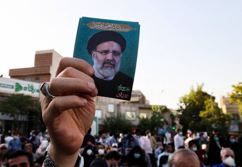 Iran's Ebrahim Raisi headed for presidency as poll rivals pull out
