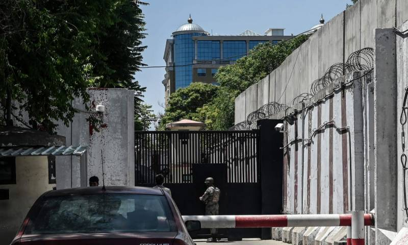 Covid surges in Kabul US embassy
