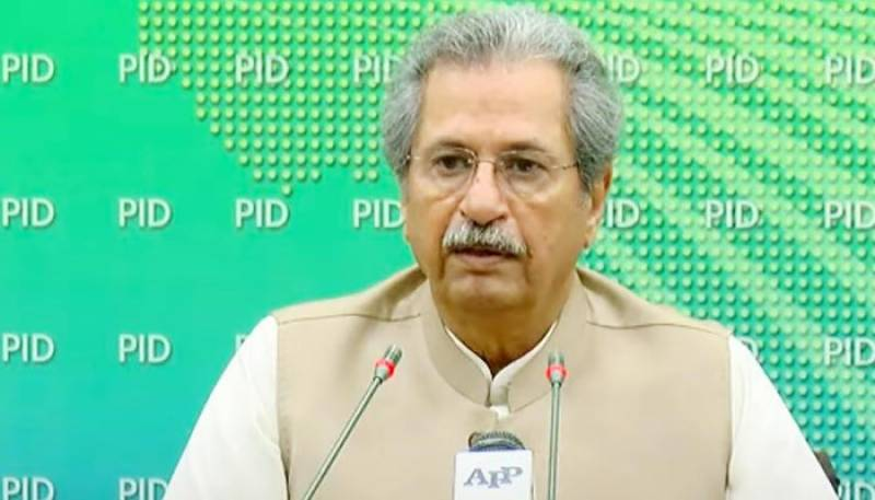 Students allowed to sit in MDCAT before grade 12 exams: Shafqat